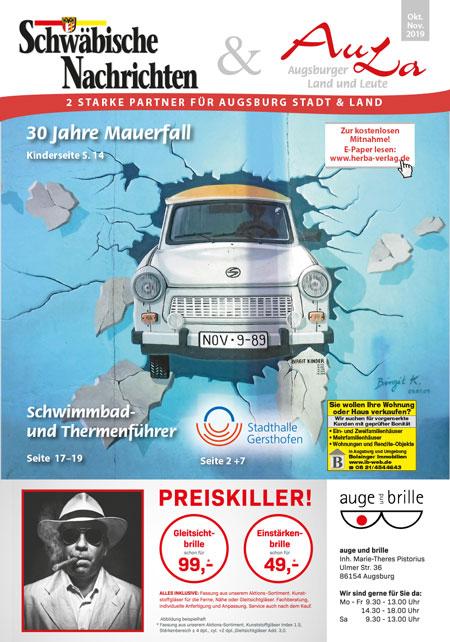 Schwäbische Nachrichten + AuLa Oktober 2019